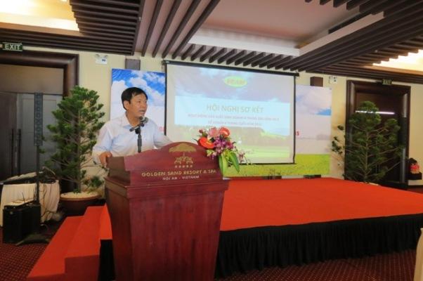 Hội nghị sơ kết đánh giá kết quả hoạt động sản xuất kinh doanh 6 tháng đầu năm 2015