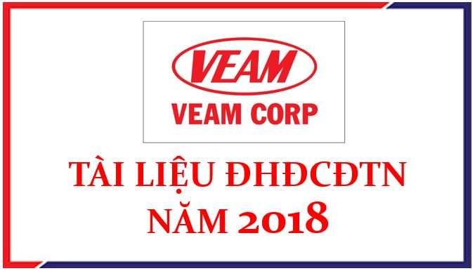 Thông tin cập nhật, bổ sung họp Đại hội đồng cổ đông thường niên 2018 (Đăng ngày 28/6/2018)
