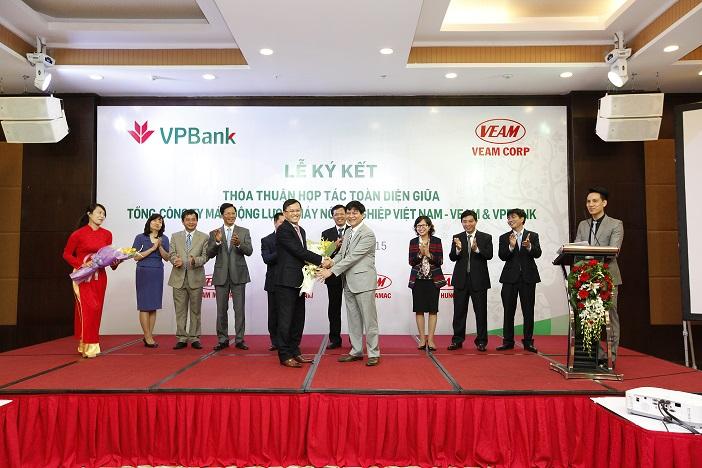Tổng công ty VEAM ký thỏa thuận hợp tác toàn diện với VPBank
