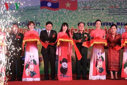 VEAM tham gia Hội chợ Thương mại Việt - Lào 2018